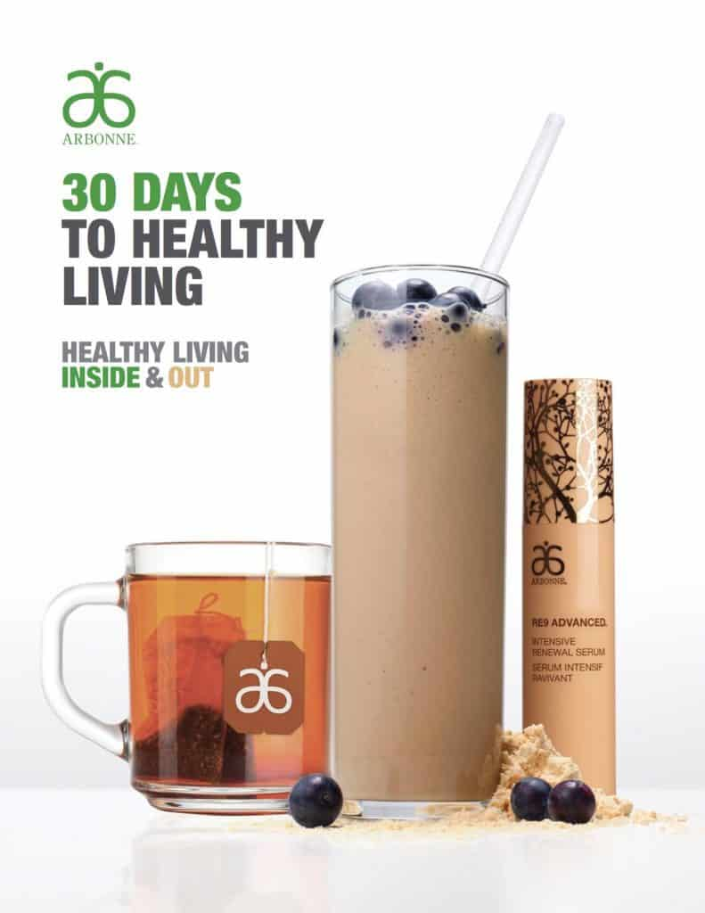 Downloadable PDF of Arbonne Detox program in English