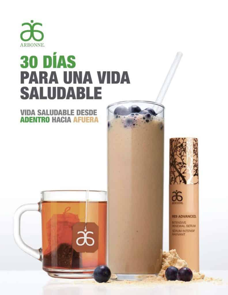 Downloadable PDF of Arbonne Detox program in Spanish